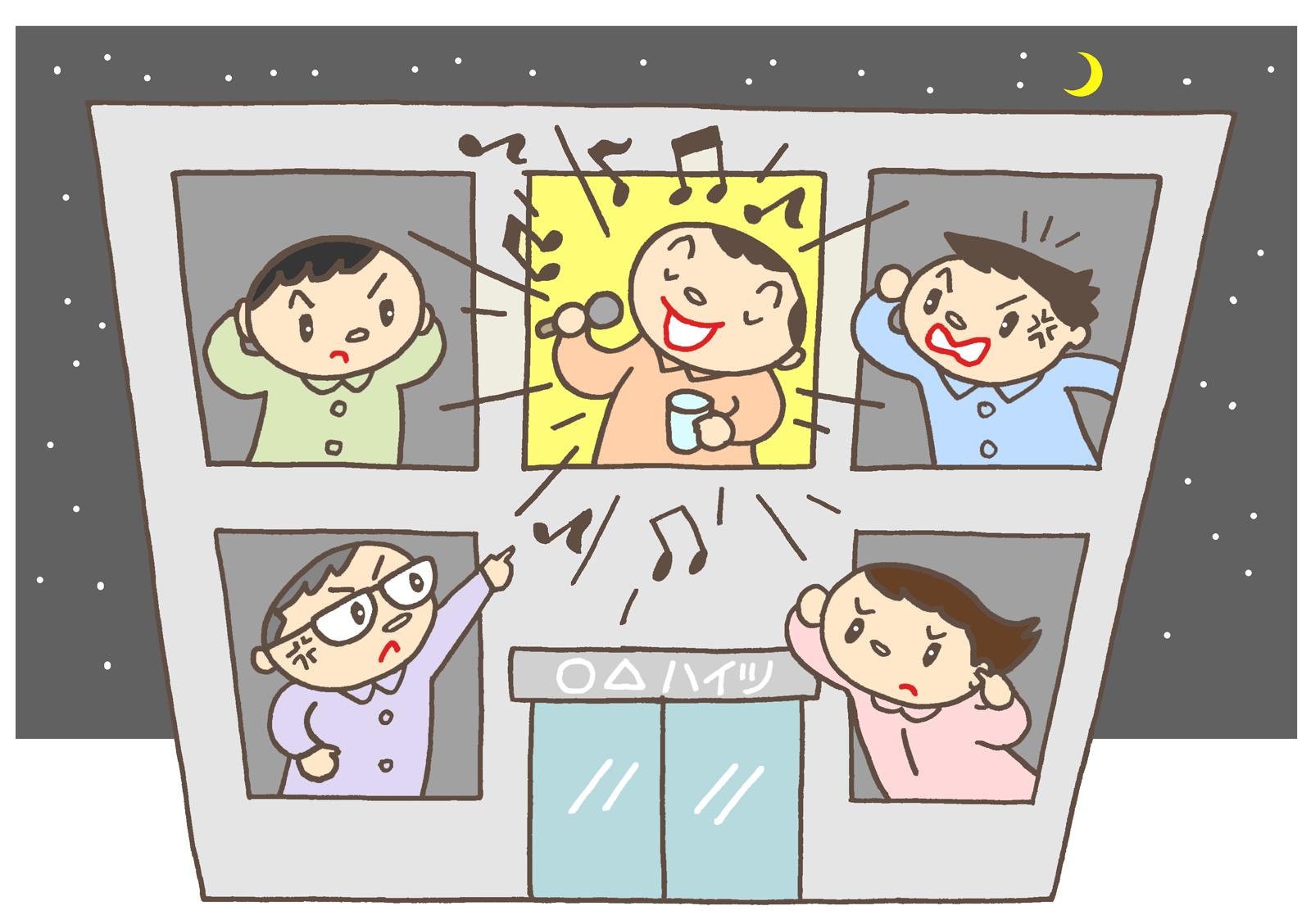 深夜の騒音は警察を呼ぶ方がいいの?騒音で悩んだ時の対処方法